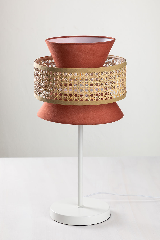 Table Lamp in Rattan Yereh, gallery image 1