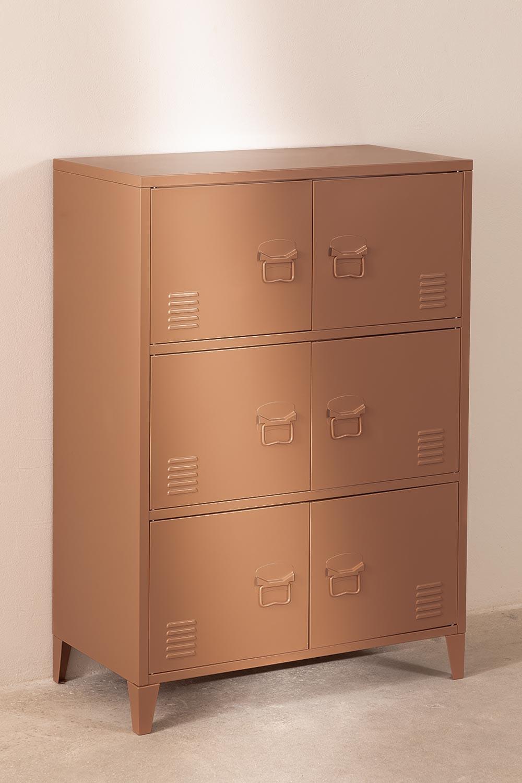 Metal 6-Door Locker Drawer Pohpli , gallery image 1