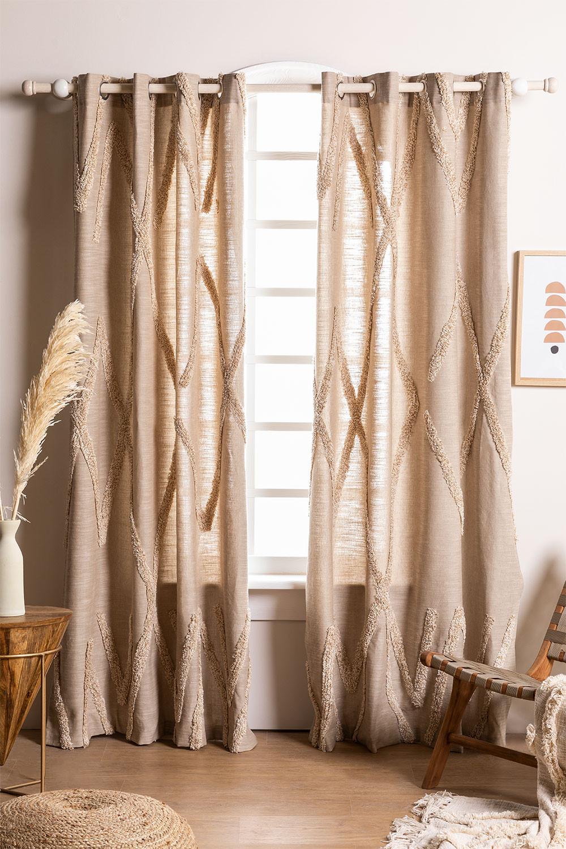 Cotton Curtain (209x134 cm) Jasper , gallery image 1