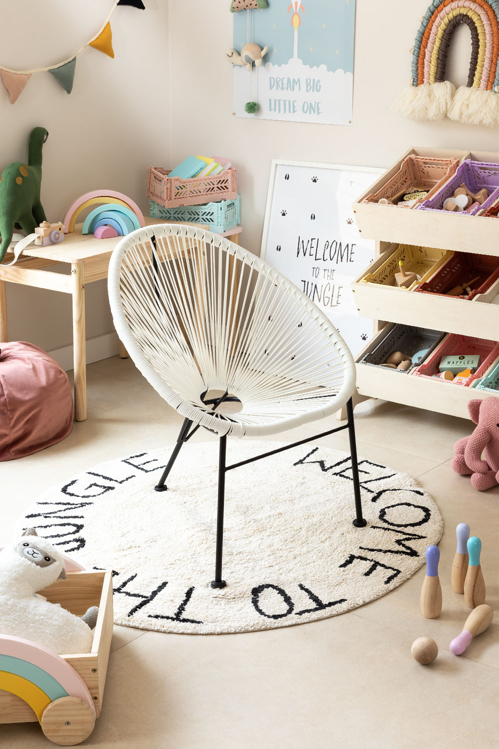 Mini Acapulco Kids Chair, gallery image 1