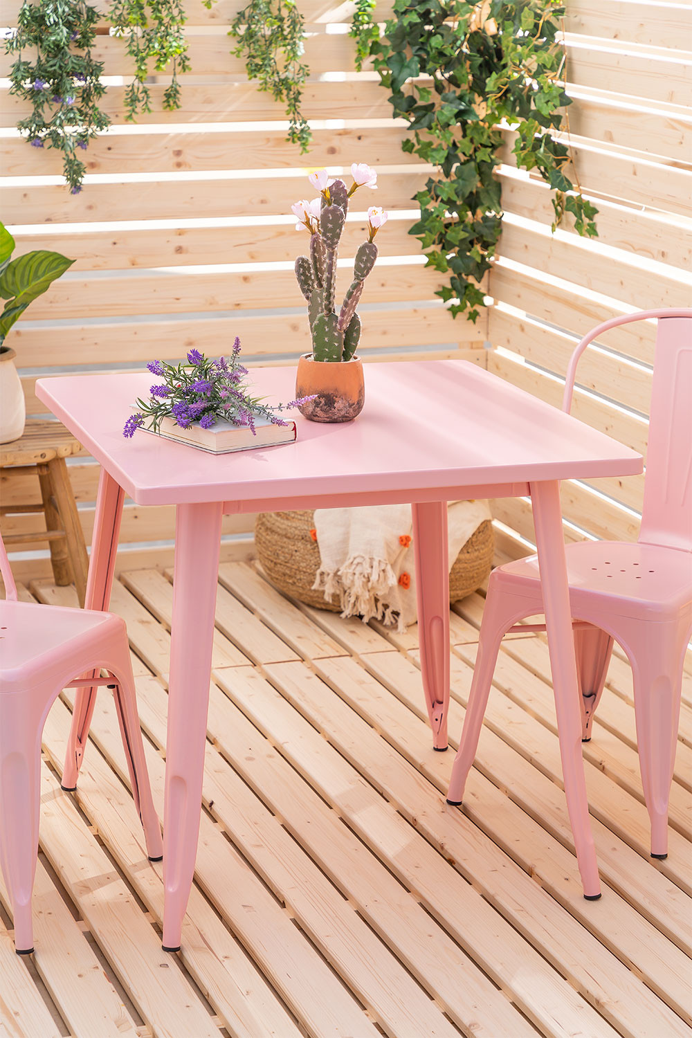 Table 80x80 Exterior Mate  LIX , gallery image 1