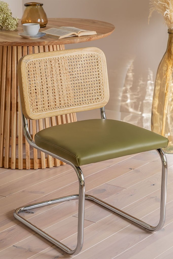 Tento Leatherette Dining Chair, gallery image 1