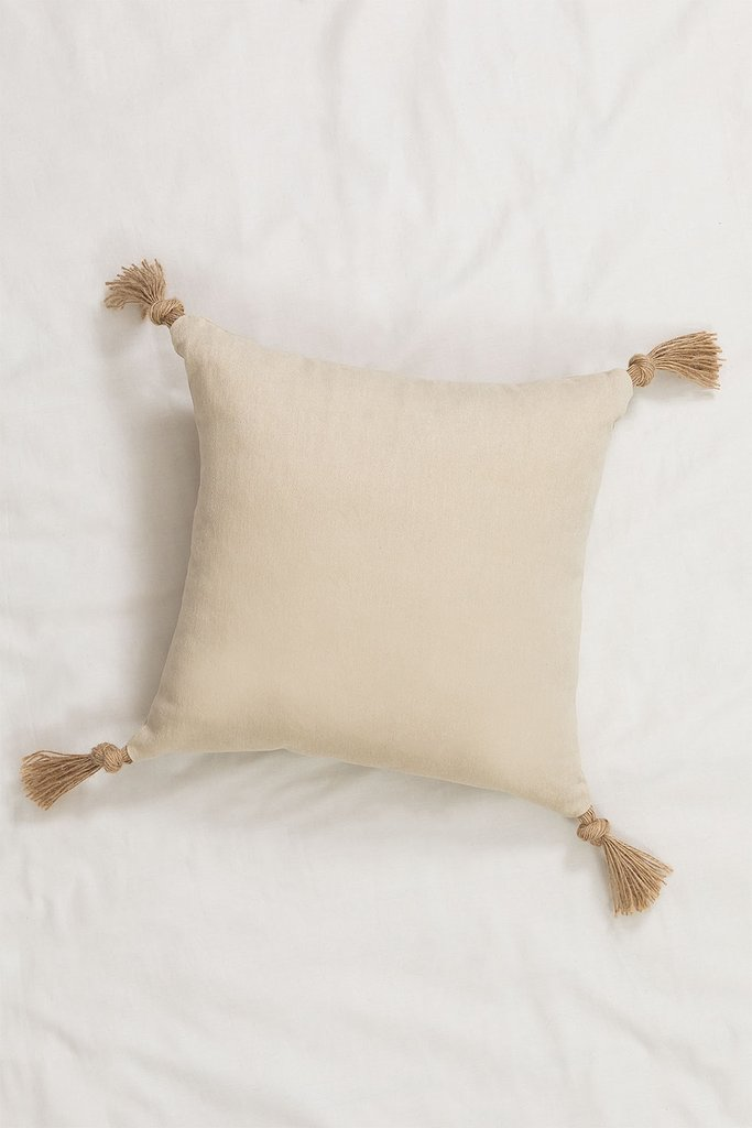 Square Cotton Cushion Musk (45x45 cm) , gallery image 1