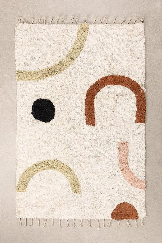 Cotton Rug (206x130 cm) Ebre, gallery image 1