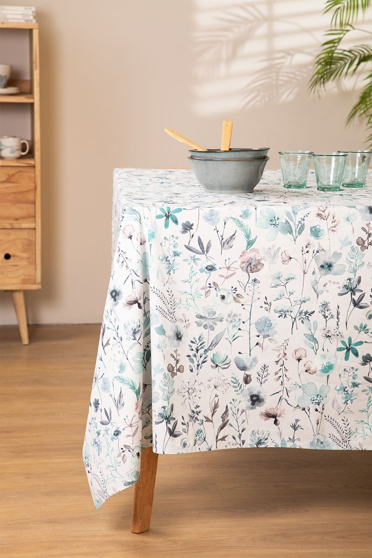 Cotton Tablecloth (150 x 250 cm) Liz , gallery image 1