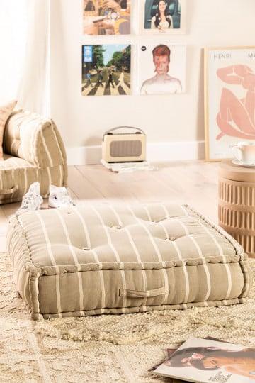 Modular Sofa Cushion in Cotton Dhel Boho