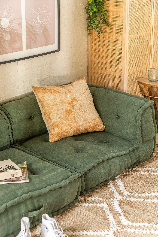 Cotton  Modular Corner Sofa Dhel, gallery image 1
