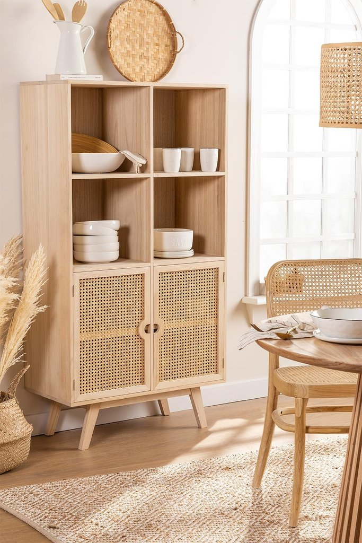 Ralik Style Wooden Cupboard, gallery image 1