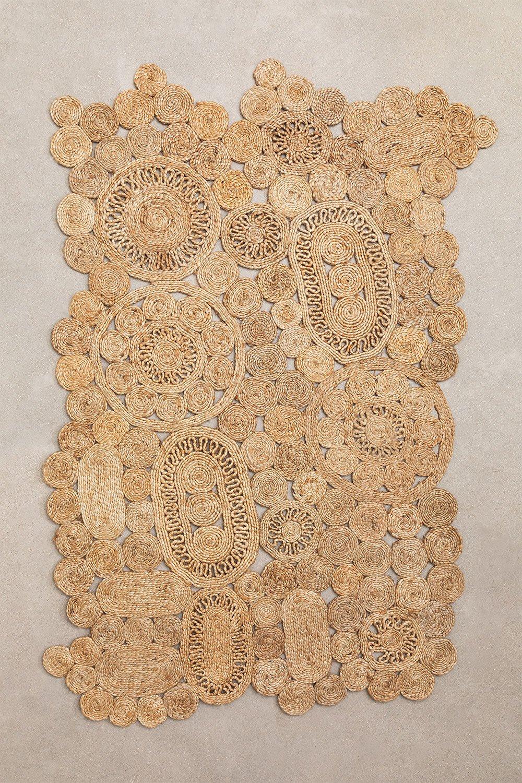 Natural Jute Rug (205x130 cm) Syrah, gallery image 1