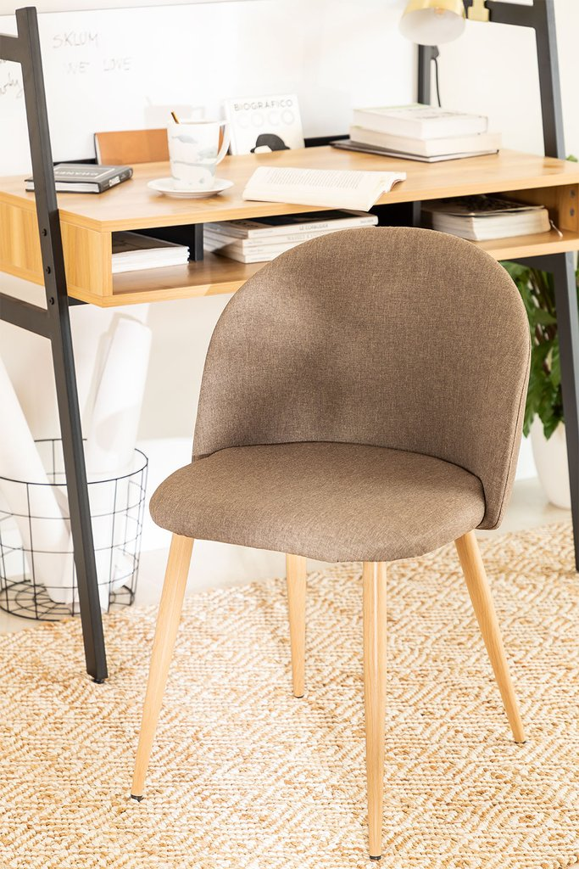 Linen Dining Chair Kana, gallery image 1