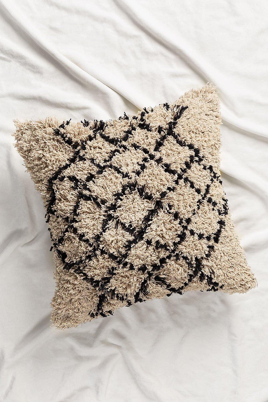 Kiply Square Cotton Cushion (50x50cm) , gallery image 1
