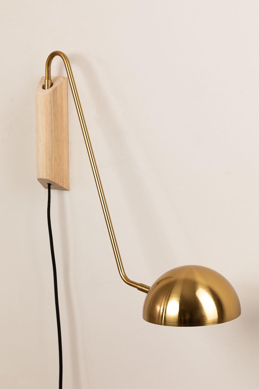 Ercsi Metallic Wall Lamp, gallery image 1