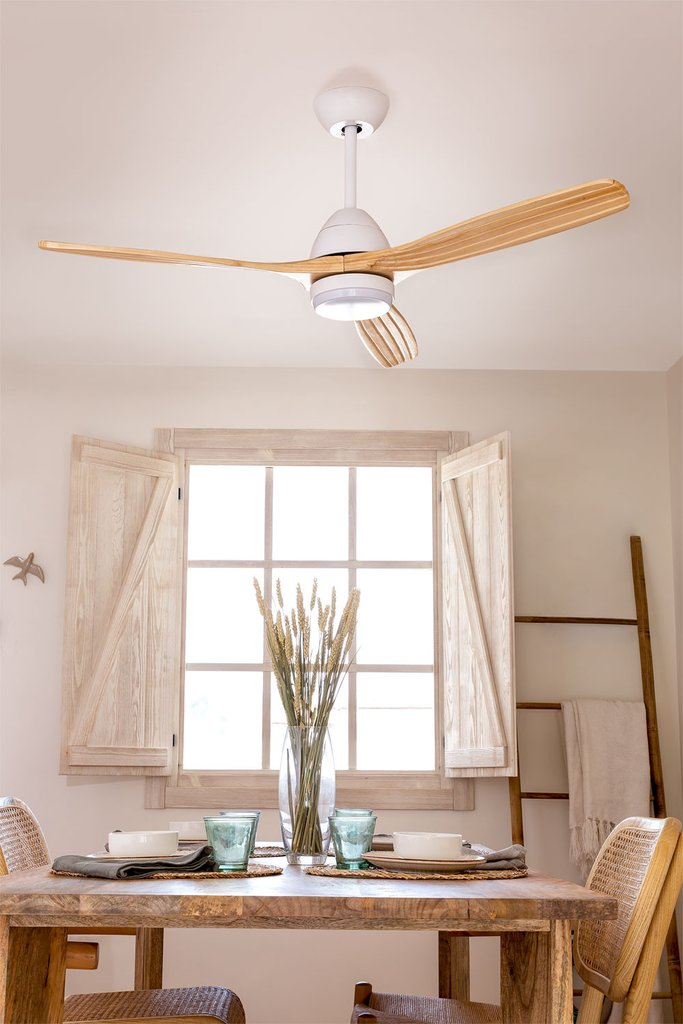 PACK - Ceiling fan RX52-034 + Light - Create, gallery image 1