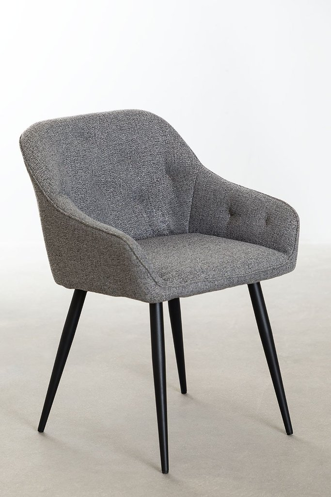 Fabric Dining Chair Zilen, gallery image 1