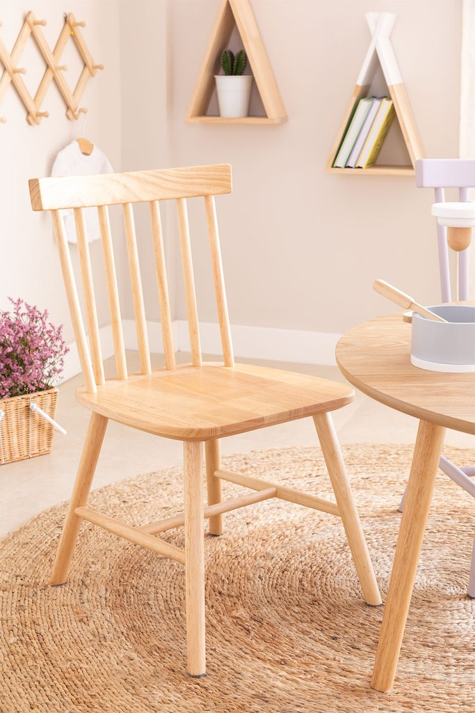 Shor Natural Kids Chair, gallery image 1