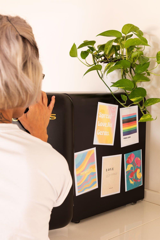 Set of 5 Magnetic Photo Frames Garbo , gallery image 1