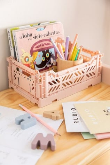 Foldable & Stackable Plastic Box Doli