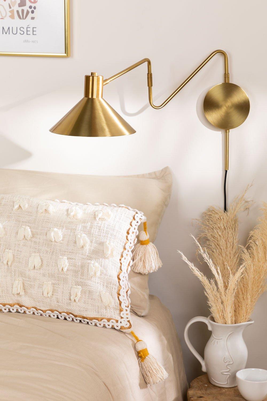 Metallic Wall Lamp Lizz, gallery image 1