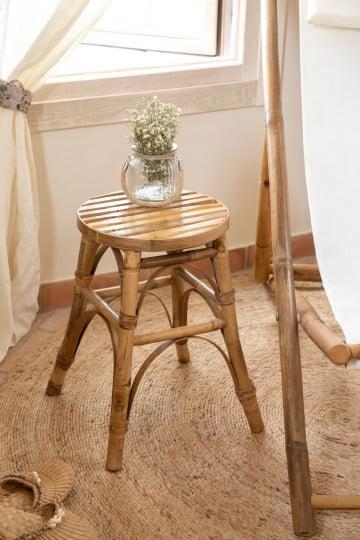 Ovne Low Bamboo Stool