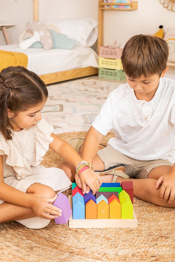 Wooden Puzzle City Kids, gallery image 1