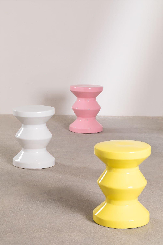 Round Ceramic Side Table Bolöh (Ø33 cm) , gallery image 1