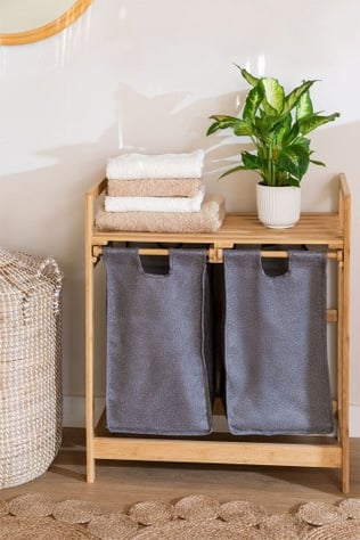 Joesh Bamboo Laundry Basket