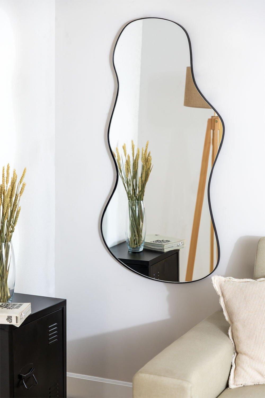 Metal Wall Mirror (110x67 cm) Astrid, gallery image 1
