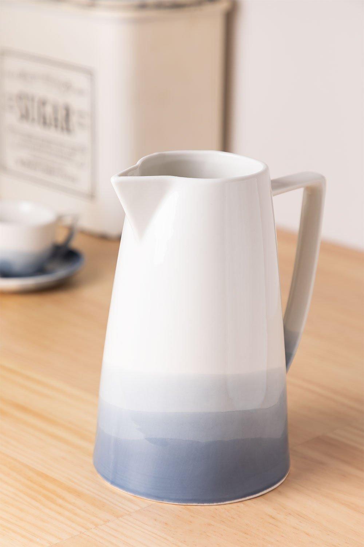 Porcelain jug 1.2 L Mar, gallery image 1