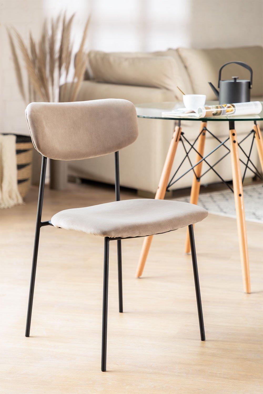 Velvet Dining Chair Sam, gallery image 1