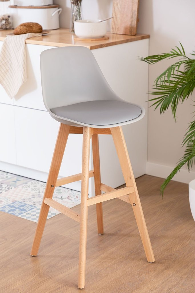 Pack 4  High Stools Nordic Edition, gallery image 1