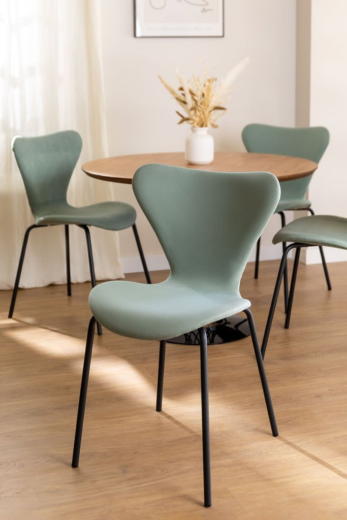Upholstered Dining Chair Uit , gallery image 1