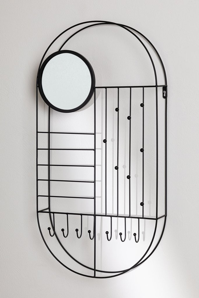 Wall Jewelry Box with Mirror Ord, gallery image 1