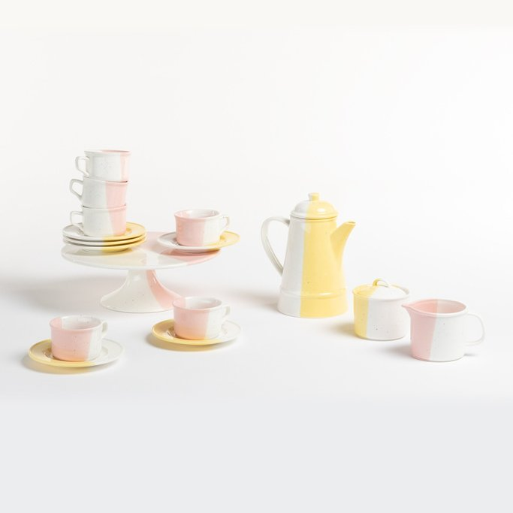 Tracya Tea Set by Bornn 10 pcs., gallery image 1