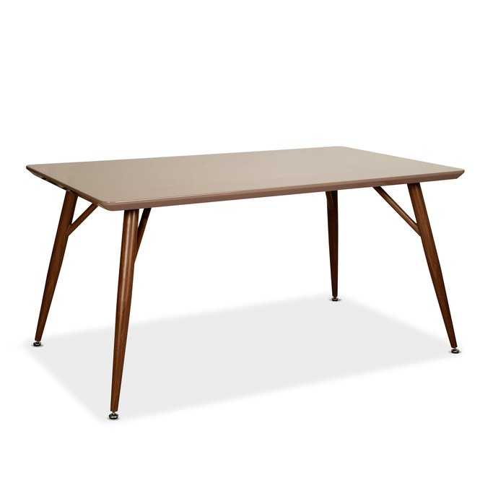 Katty Wooden Rectangular Dining Table 150cm, gallery image 630129