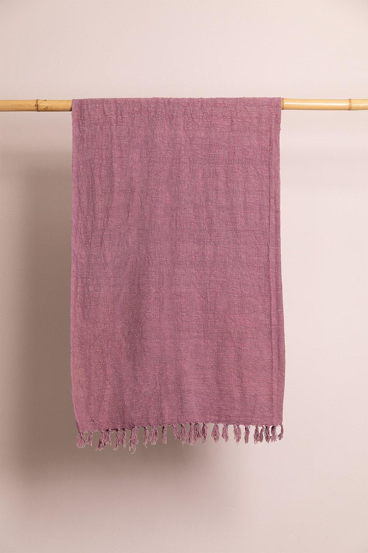 Lavani Cotton Plaid Blanket, gallery image 1