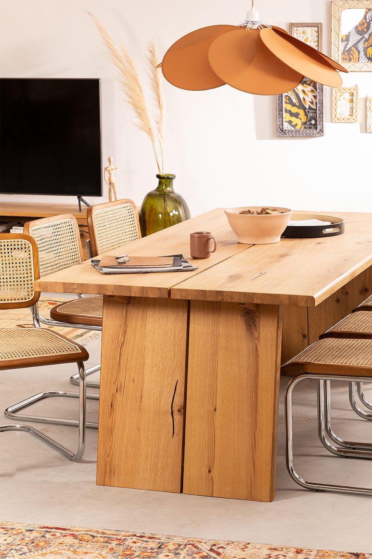 Rectangular Wooden Dining Table (210x100 cm) Enok, gallery image 786162