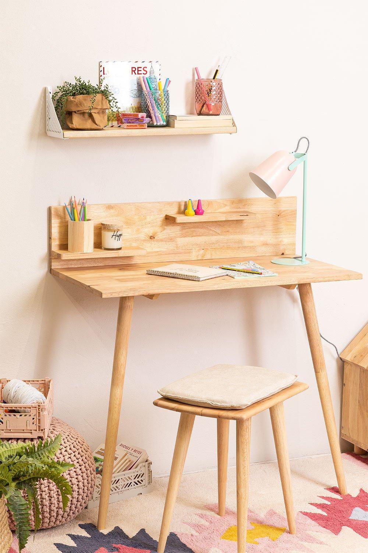 Wooden Desk Set Arlan , gallery image 1