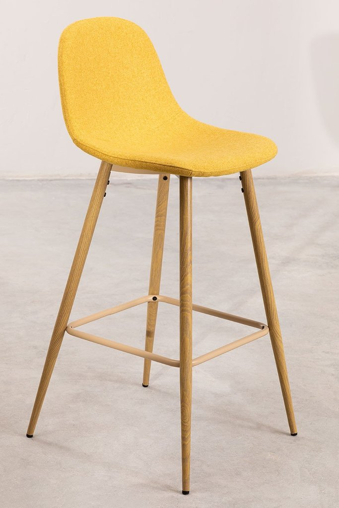 High Stool in Fabric Glamm, gallery image 1