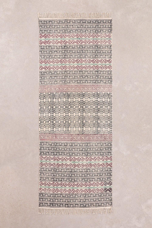 Cotton Rug (203.5x78.5 cm) Sousa, gallery image 1