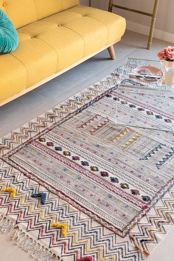 Cotton Rug (189.5x124 cm) Bruce, gallery image 1