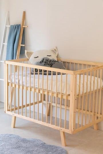 Tianna Kids Wood Crib