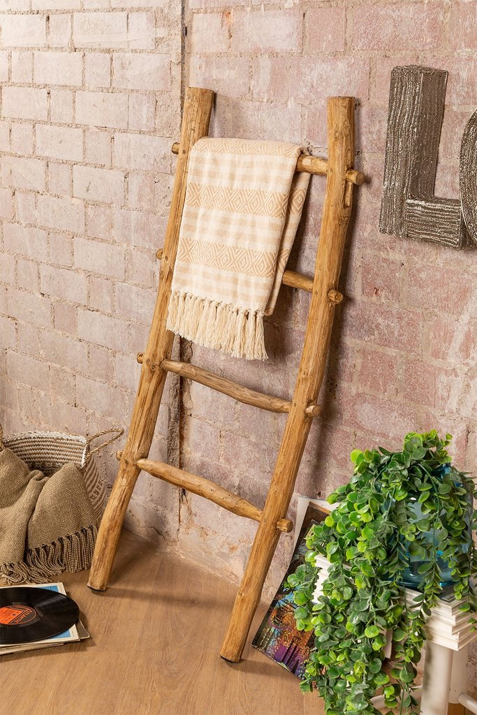 Recycled Wooden Ladder Taira, gallery image 1