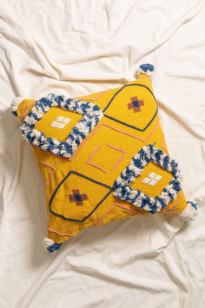 Mütad Cotton Cushion Cover, gallery image 1