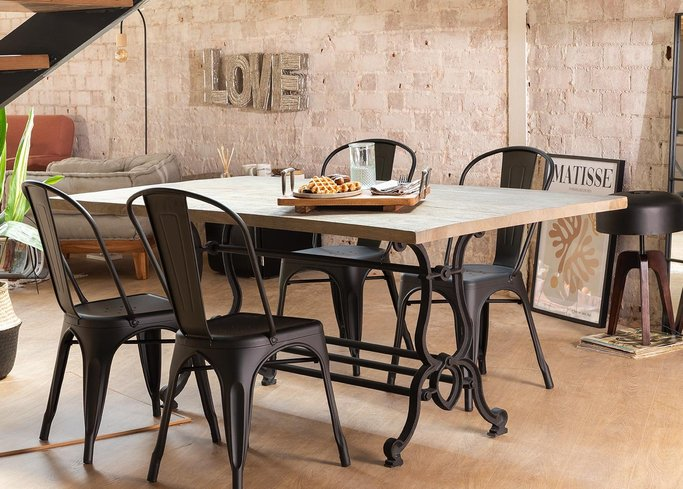 Vintage Dining Table ( 180 X 90 cm ) Qush, gallery image 848378