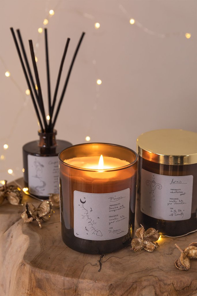 Aromatic Candle (200 gr) Zodiac Collection, gallery image 1