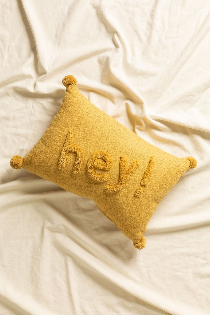 Cushion with Cotton Embroidery (30x45 cm) Jei, gallery image 853176