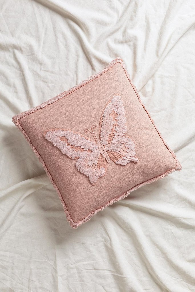 Cushion with Cotton Embroidery (45x45 cm) Bloom Kids, gallery image 1