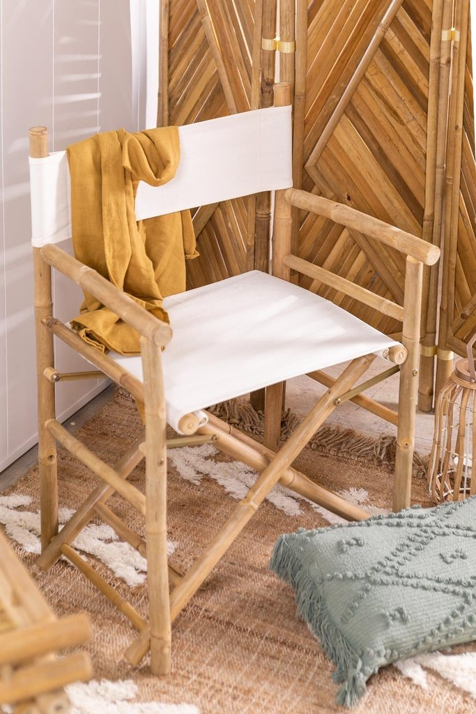 Director's Chair in Woody Bamboo, gallery image 1