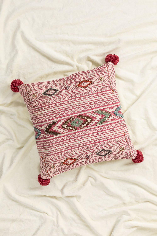 Ganxet Cotton Cushion, gallery image 1