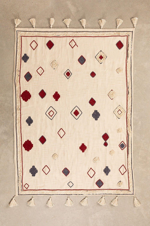 Ispa Cotton Plaid Blanket, gallery image 1
